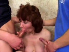 Gangbang Russian Mom