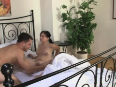 her-bf-comes-in-when-she-swallowing-his-bro-s-jizz