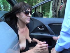 Slutwife Marion Gangbanged By 20 Strangers At A Rest Area | Porn Bios
