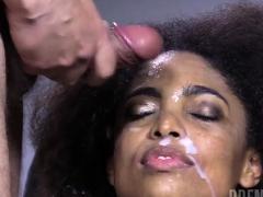 Hot Pornstar Bukkake And Facial Cum