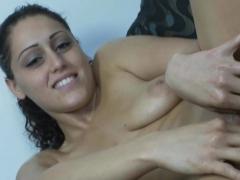 Horny Girl Masturbates In The Shower