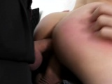 Teen with small tits first time ever double penetration