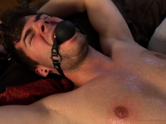 Shaved Gay Spanking With Massage