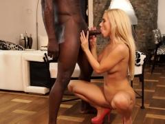 Black4k. Big Cock Of Black Fellow Turn Slender Cutie On...