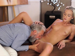 OLD4K. Nice cock of old teacher was main target for…