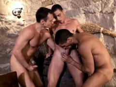 Latin Gay Flip Flop With Facial