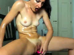 Busty Brunette Conny Hot Sex Toys Masturbation