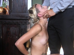 hot-blonde-thief-tormented-and-fucked