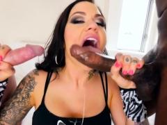 blacked-slut-throats-rod