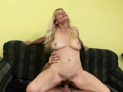 Naughty Blonde Can't Have Enough Of His Dick