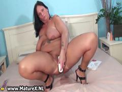 Busty Mom Gets Her Pussy Wrecked Part2