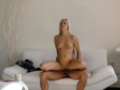Hunt4k. Rich Guy Plays With Blonde's Pussy In Front Of...