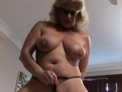 busty-blonde-tries-out-a-dildo