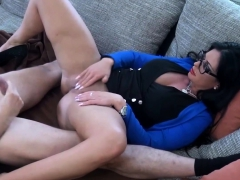 german-big-tits-housewife-with-glasses-punished-by-stepson