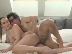 Teen Old Man First Time Does Her Boycomrade Really Agree