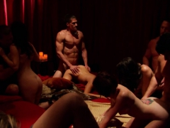 open minded couples switch their womens in a orgy sex