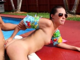 Blonde teen babe squirt first time Swimming In Semen