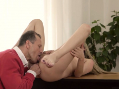old dude blowing young dick xxx stranger in a immense