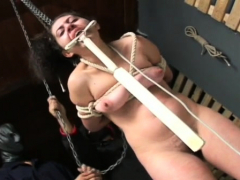 naughty whore gets punished in bizarre humiliation mode