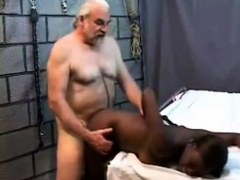 old men screwing a young black wife HD