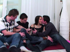 Adorable Teen Getting Her Tight Sweet Love Tunnel