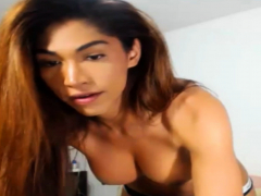 Busty Shemale Doing Nasty Cock And Ass Playing