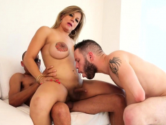 Tempting shelady seduces a boy and gets her ass busted