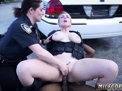fake-cop-blonde-outside-we-are-the-law-my-niggas-and-the