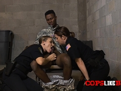 impostor-soldier-is-taken-by-milf-cops