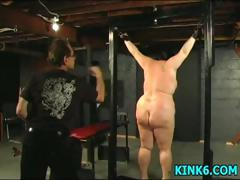 Slaves Tits Hang To Her Knees