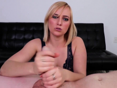 Kate England knows how to treat a big cock and today is