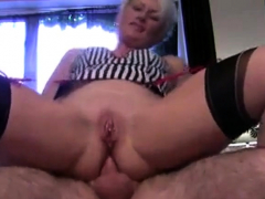 Mature British Milf Assfucked
