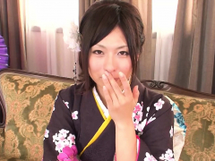 Japanese geisha gets tied up and played with