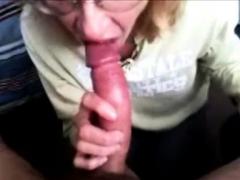 Blowjob Buddy Gives Me My First Deepthroat