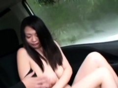 Divine busty eastern girlfriend Nachi Kurosawa is fingered