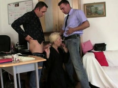 hairy-blonde-granny-spreads-legs-for-two-men