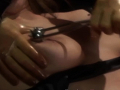 sexy dominant beauty tapes and toys lesbian submissive
