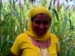 Indian fuck in a corn camp
