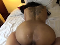 skinny asian babe nailed and creampied