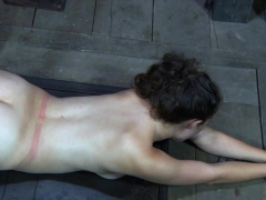 Bound sub fingered and toyed before giving bj