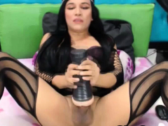 Two Busty Sexy Shemale Live On Cam