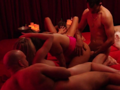 lovely fucking choreography at an orgy