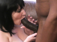Bbw In Fishnets Takes Huge Black Cock At Work