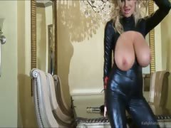 Busty Kelly Madison Has Latex Lust