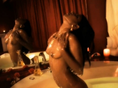 Cleansing Her Body For Your Pleasure