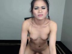 Asian Cutie Gets Naughty When Masturbating On Webcam