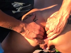 fisting-his-hot-wifes-ass-in-public-till-she-squirts