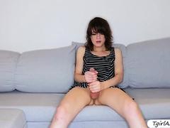 petite-tgirl-rookie-stray-solo-masturbation