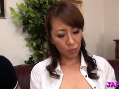 Hawt Blow Job By A Mature Asian
