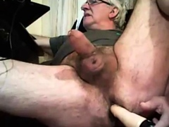 grandpa-play-with-a-toy-and-cum-on-cam